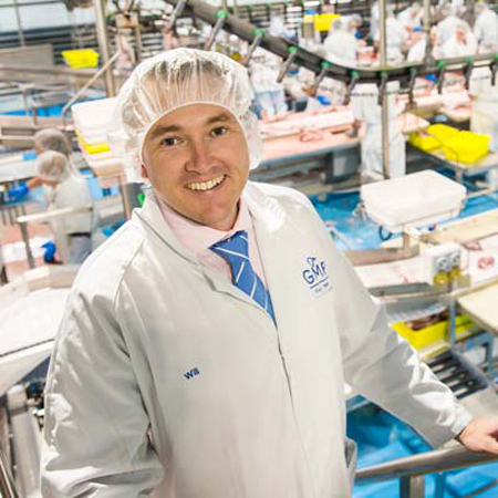 Will Barton, CEO of Gundagai Meat Processors
