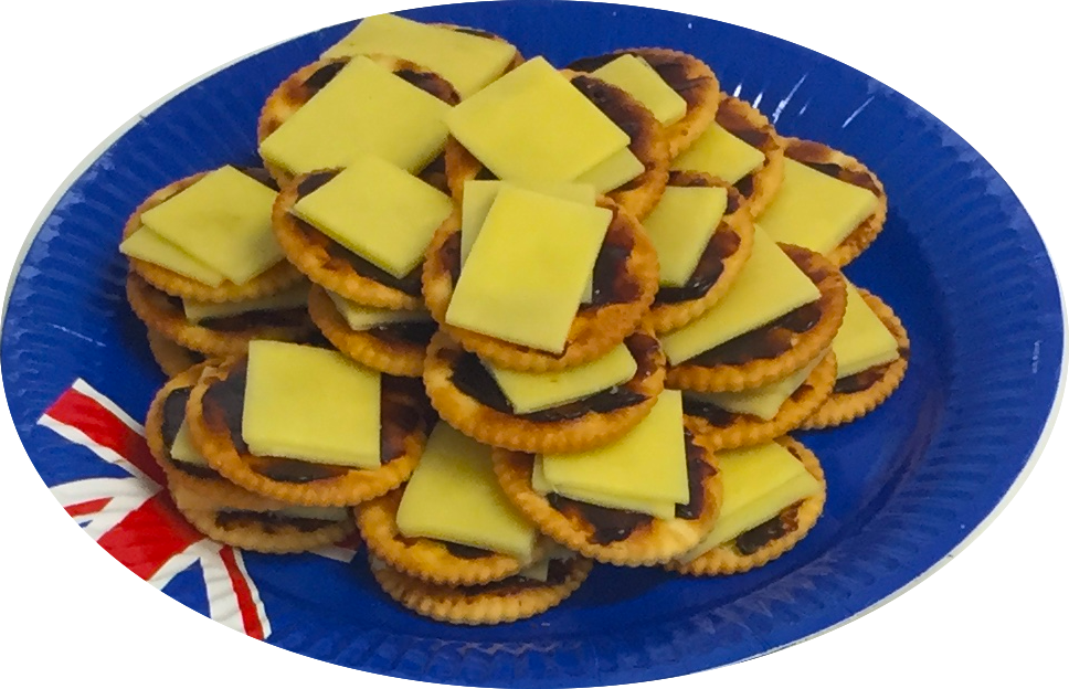 Nothing's more Aussie than cheese & crackers with Vegemite