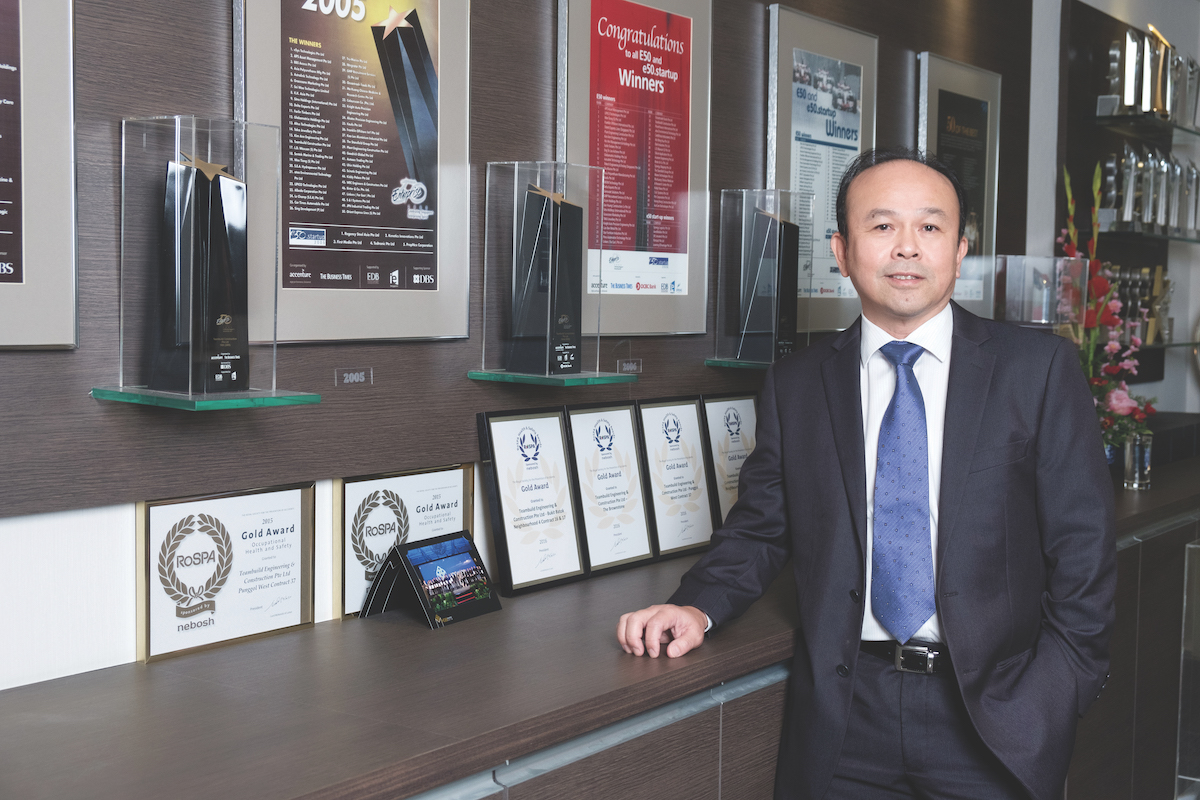 Seow Seng Wei, CEO of Teambuild Engineering & Construction