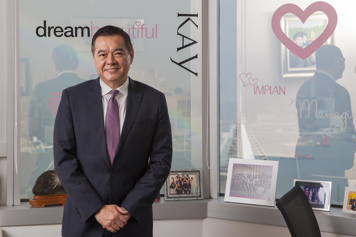 KK Chua, President Asia–Pacific of Mary Kay Cosmetics