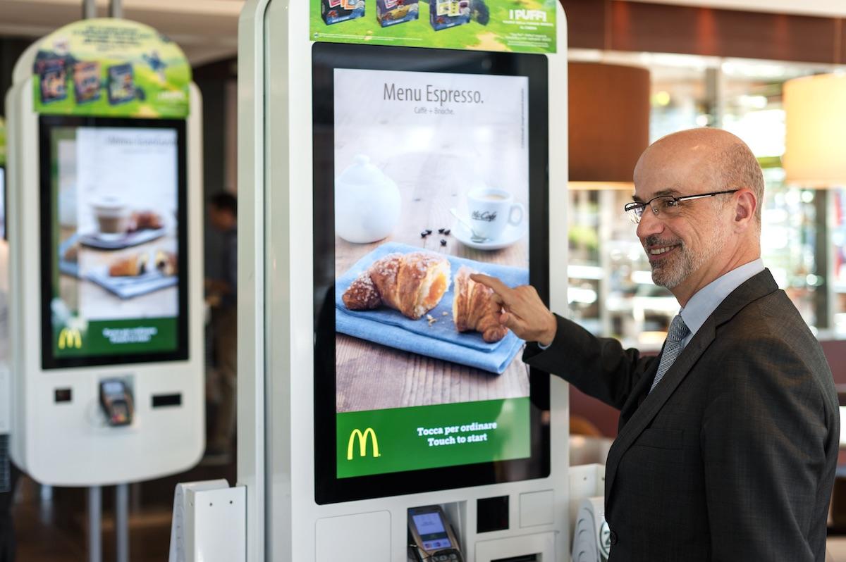 Mario Federico Managing Director of McDonald's Italy